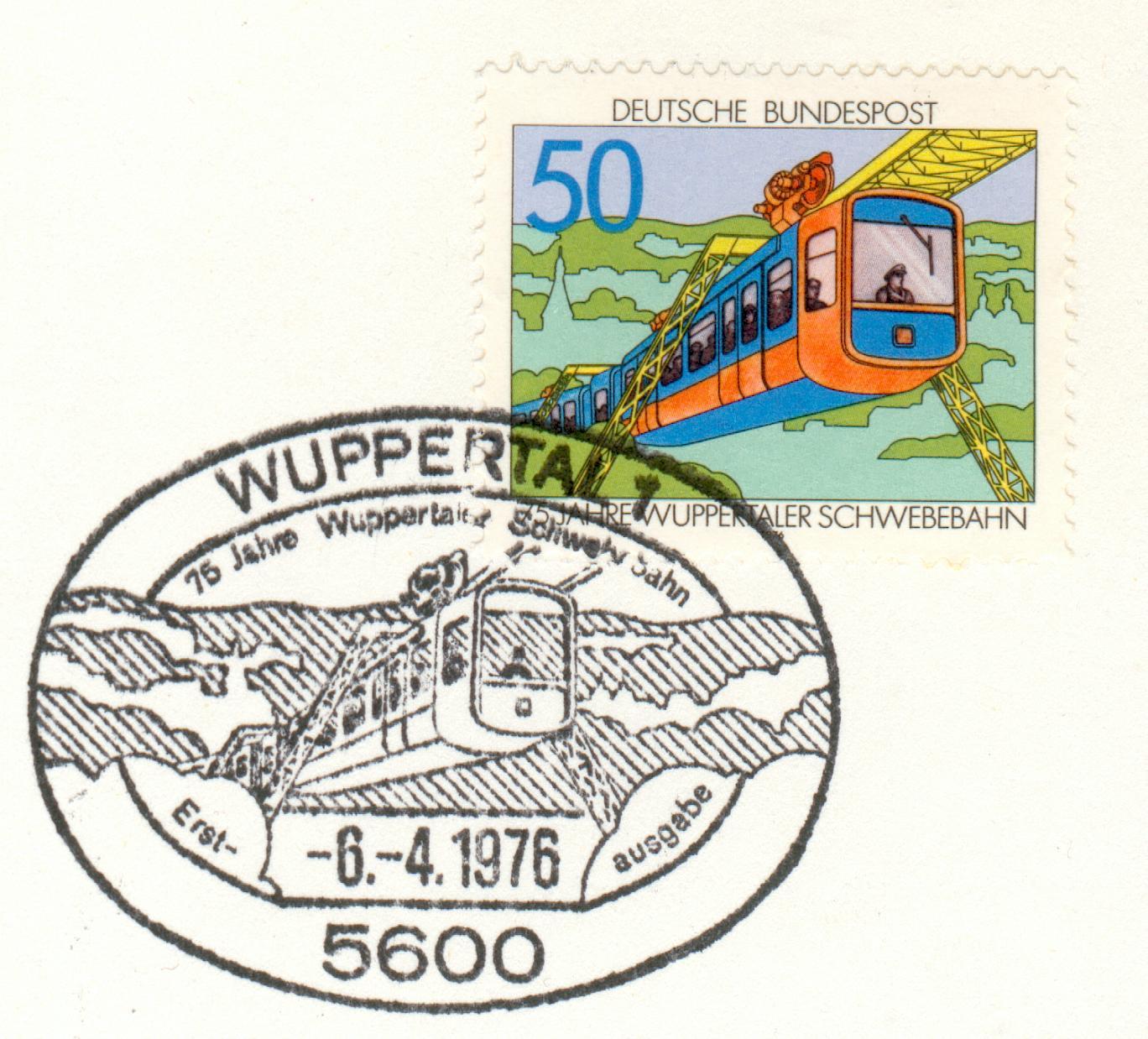 Germany Michel Nr 881 MK MC Schwebebahn Wuppertal gg73  eBay